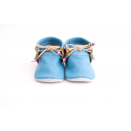 Mocassini Strap blue