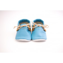 Mocassini bow blue